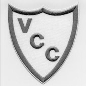 Grey VCC Contemporary Crest Badge
